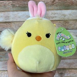 Aimee the Easter Bunny Chick Squishmallow NEW